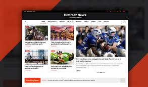 river free bootstrap news template for news magazine grafreez