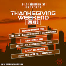 2017 thanksgiving weekend in chicago promo mix hosted by d i s