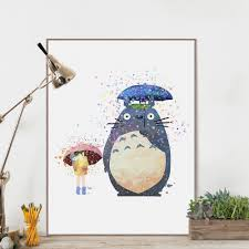 totoro poster home decoration join us if you like totoro totoro