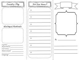 brochure rubric template travel brochure template for brickhost c0040985bc37