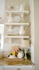 155 best images about kitchen decor ideas on pinterest shelves
