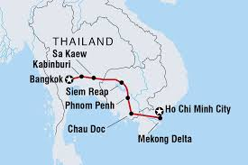 Saigon On World Map by Cycle Indochina Cambodia Tours Intrepid Travel Au
