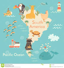 Images Of World Map by Animals World Map Stock Vector Image 62370378