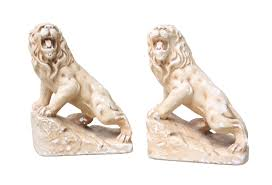 bookends lion vintage lion bookends omero home