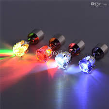 led earrings best led lighting luminous earrings stud earring sweet