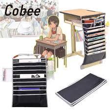 pochette bureau cobee a 10 couches multifonctionnel bureau livre suspendus sacs