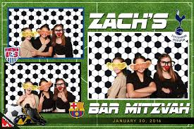themed photo booth zach s soccer themed mitzvah photo booth rentals palmdale
