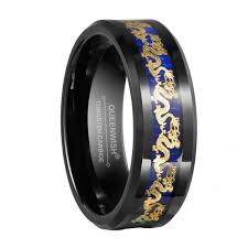 wedding band reviews queenwish reviews for tungsten carbide ring with gold inlay
