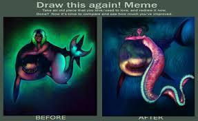 Manatee Meme - draw again meme by majestic manatee on deviantart