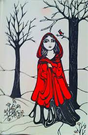 red riding hood drawing rae chichilnitsky