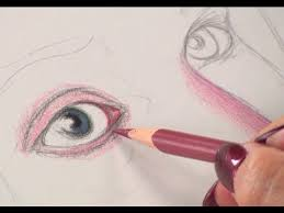 art lessons with lee hammond drawing faces in colored pencil
