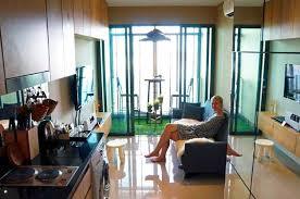 Mini Apartment Living Room Mini Apartment In Bangkok Glass Wall And Fake Grass Video