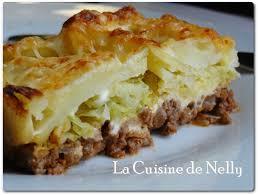 comment cuisiner le chou vert chou vert en gratin au boeuf haché la cuisine de nelly