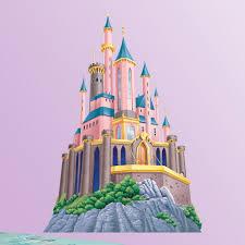 disney princess castle wall decal hayneedle