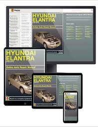 hyundai elantra 96 10 haynes online manual haynes manuals