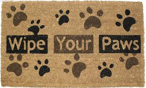 amazon com j u0026 m home fashions heavy wipe your paws natural coir