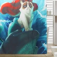 The Little Mermaid Shower Curtain Compare Prices On Mermaid Bathroom Online Shopping Buy Low Price