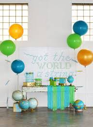 preschool graduation decorations got the world on a string preschool graduation party evite