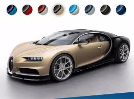 bugatti website shows off chiron colors 95 octane