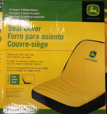 siege deere deere gator and lawn tractor large seat cover lp92334 ebay