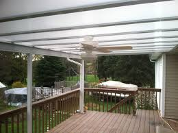 Clear Patio Roofing Materials by Residential Patio Deck Pergola Covers Bright Covers