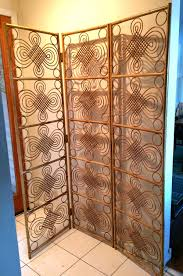 Folding Room Divider by Folding Room Dividers Vintage Mid Century Modern Bamboo Screen