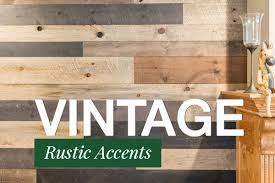 vintage shiplap paneling and rustic accents amerhart