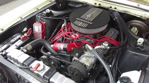 1968 mustang engines 1968 yellow ford mustang engine