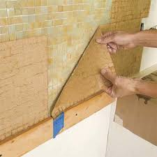 Decor Of Mosaic Tile Installation Install A Kitchen Glass Tile