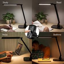 table l with usb charging port anker lumos led desk l office table l with usb charging port