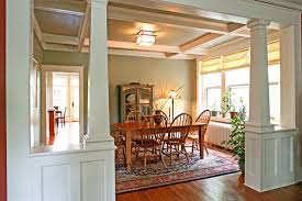 interior home columns other lovely dining room columns and other impressive 6