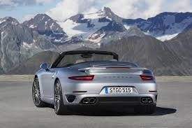 porsche carrera 2014 2014 porsche 911 turbo u0026 turbo s cabriolet revealed performancedrive