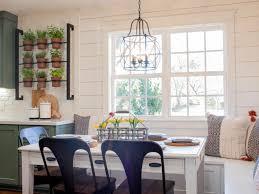 fixer upper u0027s dreamiest breakfast nooks hgtv u0027s decorating