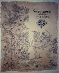 Map Of Westeros World by Map Of Westeros And The Free Cities By Vulkin96 On Deviantart