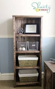 Fine Woodworking Bookcase Plans by Best 25 Rustic Bookshelf Ideas On Pinterest Bookshelf Diy Diy
