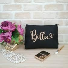 bridal party makeup bags personalised makeup bag bridesmaid gifts personalised cosmetic