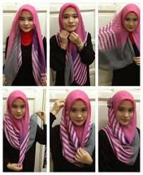 tutorial jilbab jilbab tutorial hijab segi empat modern namun tetap islami tutorial hijab
