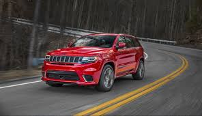 matte jeep grand cherokee jeep grand cherokee trackhawk the most powerful and quickest suv
