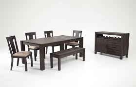 bobs furniture round dining table the most summit 42 x 78 7 piece dining set bobs discount furniture