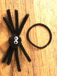 halloween hair style create a simple spider hair accessory