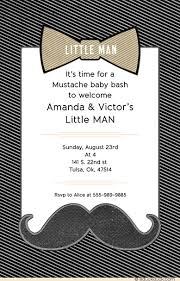 mustache and bow tie baby shower mustache baby shower invitations bow tie bash