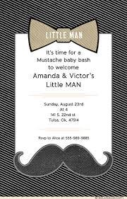 mustache baby shower invitations mustache baby shower invitations bow tie bash