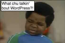 Gary Coleman Meme - are you setting up wordpress for seo success moz