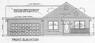 single story house elevation drawings front elevation for single