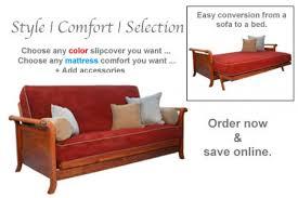 cherry wall hugger wooden futon frame lexington cherry futon