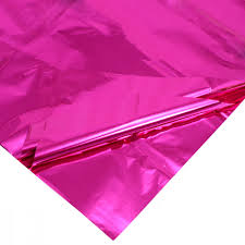 mylar tissue paper mylar tissue sheets hot pink pack of 3 50602 c