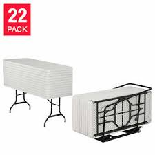 lifetime 6 commercial grade stacking folding table select color lifetime 22 commercial grade 182 9 cm 6 ft tables and cart