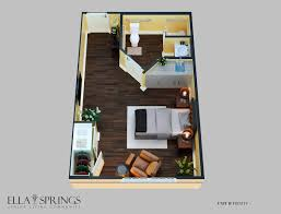 Trinity Homes Floor Plans by Memory Care Floor Plans Ella Springs Senior Living Community