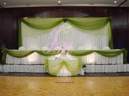 wedding decoration ideas in green green wedding ideas theme
