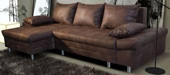 canap angle cuir vieilli destokmix les canapés lons